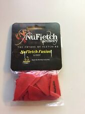 Nufletch Archery Fusn-Red-36 Red Fusion Vanes 1.7""