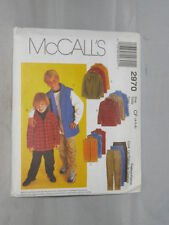 McCall 's Child Male Sewing Patterns