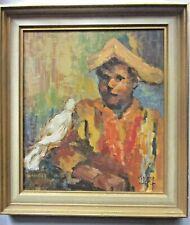 Original Oil Painting - Spanish Nobleman with Bird