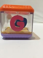 FISHER PRICE PEEK A BLOCKS  ALPHABET REPLACEMENT BLOCK G For Guitar