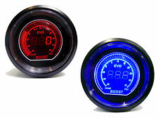 Digital 52mm Universal Turbo Boost gauge 35 psi Red Blue Volvo Turbo engines