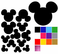 Mickey Mouse Shaped Wall Stickers X 12. Mickey Mouse Head Shaped Wall  Decals. Part 53