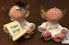 2 Angel Cheeks Figurines of Kirk's Kritter's by Russ 2001