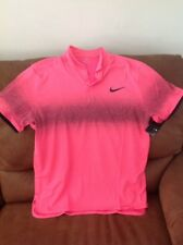 nike roger federer pink tennis polo shirt NWT size Large mens