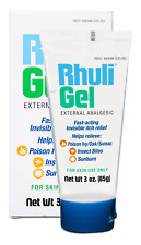 1 Tube of Rhuli Gel (original Formula) Fast Acting Invisible Itch Relief Gel