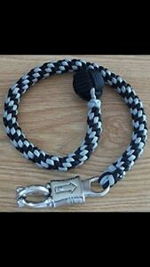 550 Paracord Motorcycle Biker Whip Get Back whip