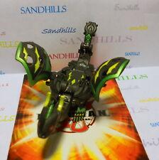 Bakugan Dharak Black Darkus Gundalian Invaders DNA 670G & cards