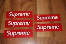 Supreme Box Logo Sticker Aufkleber Decal NEU Skateboard Hypebeast Brick New York