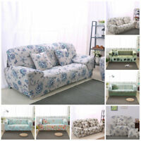 Art 1/2/3 Seater Stretch Sofa Slipcover Protector Soft Couch Covers Washable X1