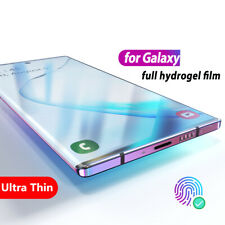 For Samsung Galaxy Note 10+ S20+ S10 A51 Full Cover Soft Hydrogel Screen Protect