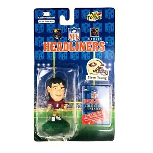 Steve Young Collectible Figure 1996 NFL Headliners SF San Francisco 49ers 2.5 In
