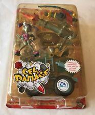 "CEL DAMAGE VIOLET ACTION FIGURE Series 1  EA GAMES Gamepro   ""NEW"" RARE, 2002!"