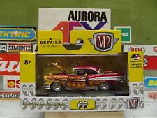 M2 MACHINES 1:64 MOON EYES RED With FLAMES 1957 CHEVROLET BEL AIR WMTS09 17-48