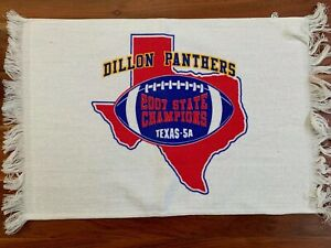 Friday Night Lights RALLY TOWEL Promo TV Dillon Panthers 2007 State Champs TEXAS