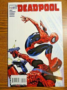 Deadpool #19 Hot Key VF+ 2nd Hit Monkey Spider-man Cover 1st Pr TV Show Marvel