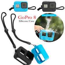 Silicone Protective Case Shockproof Soft Frame Cover Skin for GoPro 8 Camera