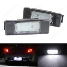 Peugeot LED License Number Plate Light 106 1007 307 308 3008 406 407 508 806 807