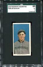 1909-11 T206 Lee Quillen Quillin SGC 60 +++ 5 Minneapolis
