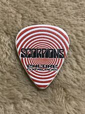 "Scorpions ""Pawel Maciwoda"" 2019 World Tour Guitar Pick-Rare"