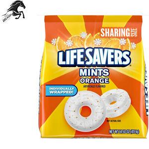 Life Savers Orange Mint Hard Candy Sharing Size Bag, 14.5 Oz