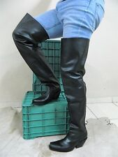 Made to order Thigh high cowboy boot , 34 INCH SHAFT