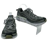 Hoka One One Clifton 4-Wide Running Shoes Men's Size 8.2E, Missing Inner Soles