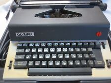 Vtg Olympia Electric Typewriter With Case Model M-R12 Made in Western Germany