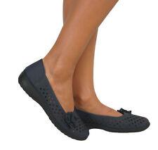 Zapatos planos de mujer azules, talla 36