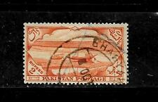 PAKISTAN SC#72 1954 2 RUPEE LARGE DEFINITIVE POSTALLY USED  SINGLE STAMP
