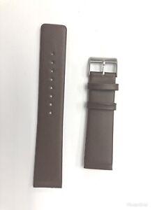 Skagen 233XXLSL,233XXLSLD Brown Genuine Leather Watch Strap / Band Replacement