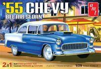 AMT 1955 Chevy Bel Air Sedan 1/25 Model Kit AMT1119-NEW