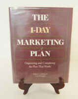 The 1-Day Marketing Plan Organizing Completing Plan Roman Hiebing Cooper Book