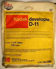 Kodak D-11 High Contrast Developer for Negative Film   Package makes One Gallon
