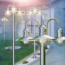 Aussenstehleuchte Kandelaber Edelstahl Wegeleuchte Garten Lampen Aussen Leuchten
