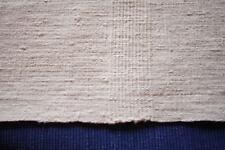 Nappe N°48 ancienne en chanvre  195 x 100 cm liteaux état neuf