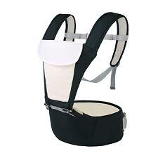 Baby Carrier Adjustable Backpack Carrier Newborn to Toddler, Hip Seat Comfy