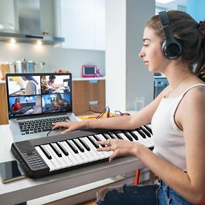 Tastiera Con 88 Tasti E Pedale Di Risonanza, Pianoforte Elettrico Portatile Fun