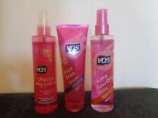 VO5 frizz free cream + Volume blow dry spray + Cherish my colour spray NEW!!!