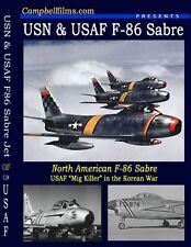 Air Force N American F-86 Sabre Jet Fighter Films Korea Intersept Saber Jet DVD
