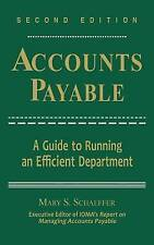 NEW Accounts Payable: A Guide to Running an Efficient Department
