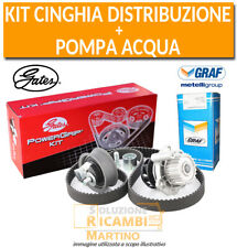 Kit Cinghia Distribuzione Gates + Pompa Acqua Graf Toyota RAV 4 II 2.0 D-4D 4WD