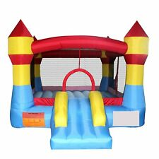 Bounce Zone Mini Residential Indoor/Outdoor Inflatable Castle Nylon Jumping Moon