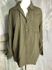 Long Sleeve Button Shirt Size Large