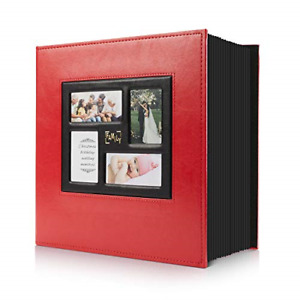 Photo Album 4x6 500 Pockets Photos, Extra Large Capacity Family Wedding Picture