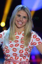 Beatrice Egli TV Schlager Musique Photo 20 X 30 CM Sans Autographe (Be-16