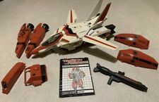 1984 Hasbro G1 Transformers Jetfire Air Guardian 95% Complete #Y63 Instructions