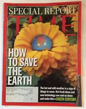 EARTH REPORT TIME MAGAZINE AUGUST 26 2002 VERY GOOD