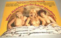 A1 Filmplakat ,WENN MÄDCHEN AUS DER SCHULE PLAUDERN,KAI FISCHER,GABY STEINER,