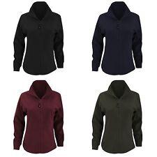Zip Full Length Polyester Coats & Jackets for Women