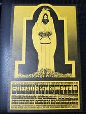 Buffalo Springfield Tucson, Az 1968 Concert Handbill Aor 3.94 - Rare Variant !